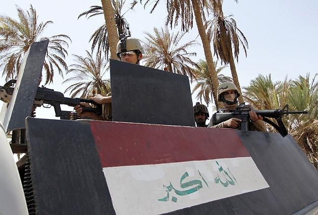 Irak ordusundan IŞİDe operasyon