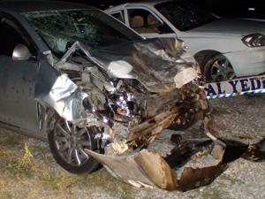 Konyada feci kaza: 1 ölü 8 yaralı!