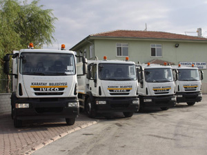 Karatay Belediyesi araç filosunu genişletiyor