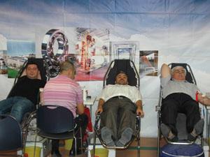 KOMBASSAN'dan kan bağışı kampanyasına destek