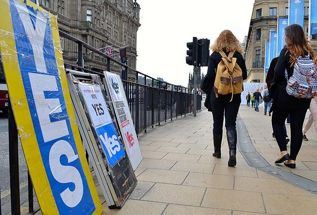 İskoçya'dan sermaye kaçışı başladı