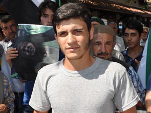 Suriyede öldürülenler için cenaze namazı kılındı