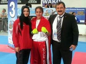Konyalı kick boksçu dünya şampiyonu oldu