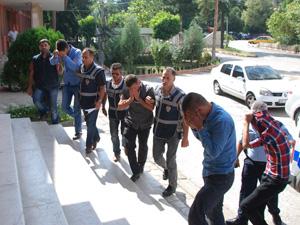 Konyada 4 hırsızlık şüphelisi yakalandı