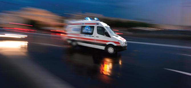 Konyada trafik kazası: 2 ölü, 6 yaralı