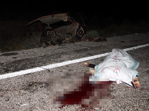Ağabey ile kız kardeşi kazada can verdi