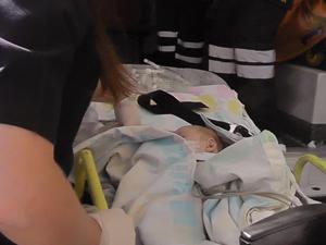 2 aylık bebek yaşam mücadelesini kaybetti