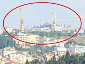 En büyük camii Avrupa'dan göründü