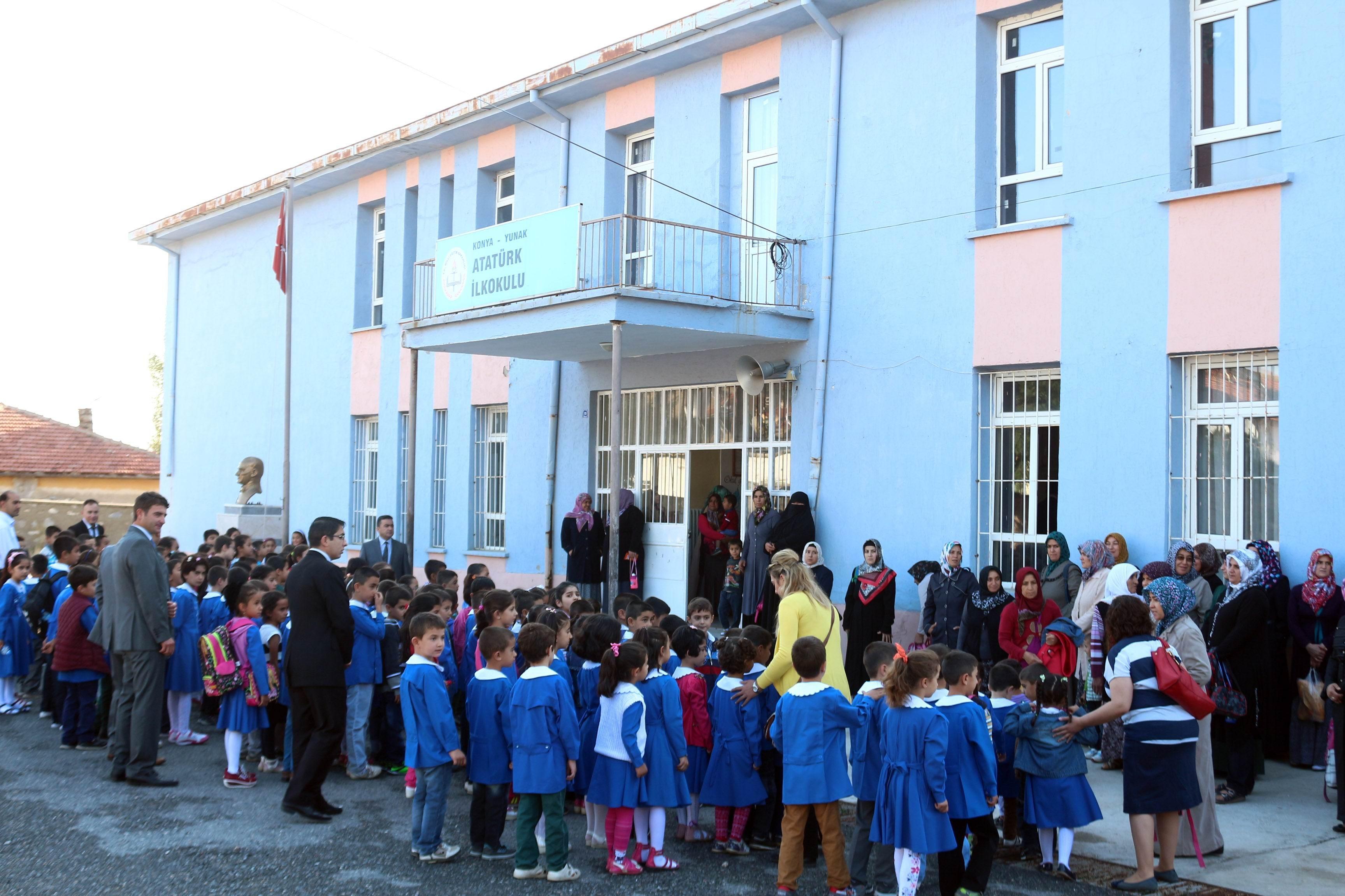 Yunak'ta 2014-2015 eğitim öğretim yılı başladı