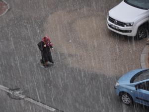 Konya'da sağanak yağmur