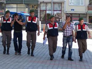 Beyşehir'de hırsızlık şüphelisi tutuklandı