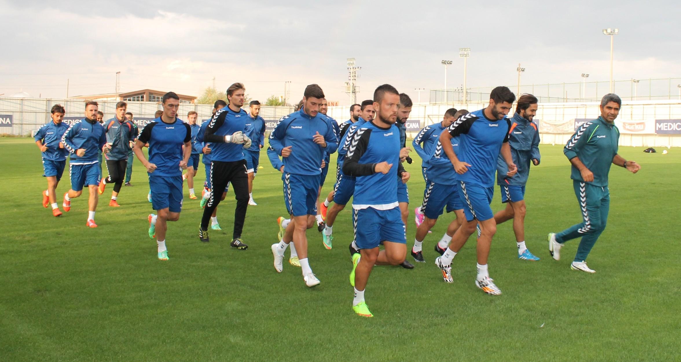 Kartalda Sivasspor hazırlıkları