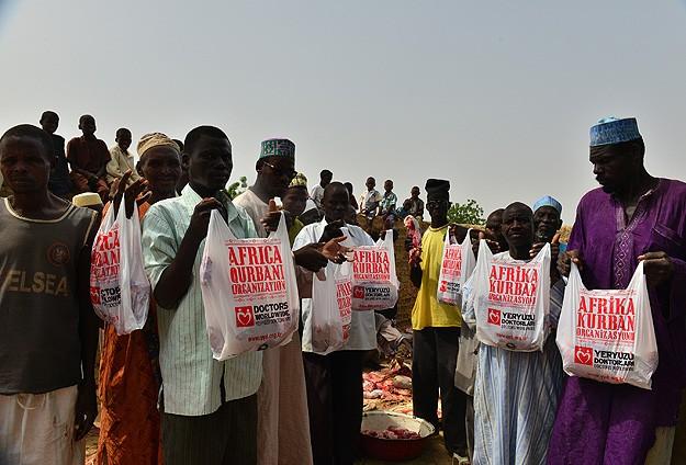 Kurbanda 100den fazla ülkenin yoksulu sevinecek