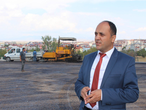 Beyşehir Fen Lisesi bahçesi asfaltlandı