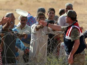 Binlerce Suriyeli sınırımıza dayandı