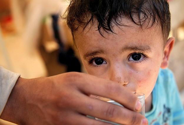 Yermuk Mülteci Kampında su krizi yaşanıyor