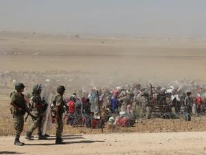 IŞİDden kaçanlara geçiş izni çıktı
