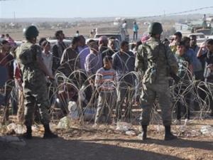Sınırdan geçişler durduruldu