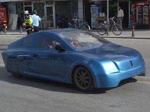 Yerli elektrikli otomobil 'Yerel T1' Konya'da