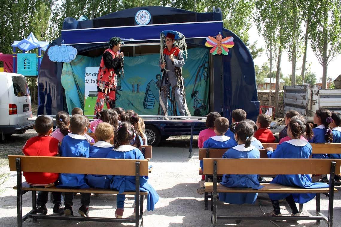 """Beyşehir'de """"sağlıklı nesiller"""" oyunu okullarda"""