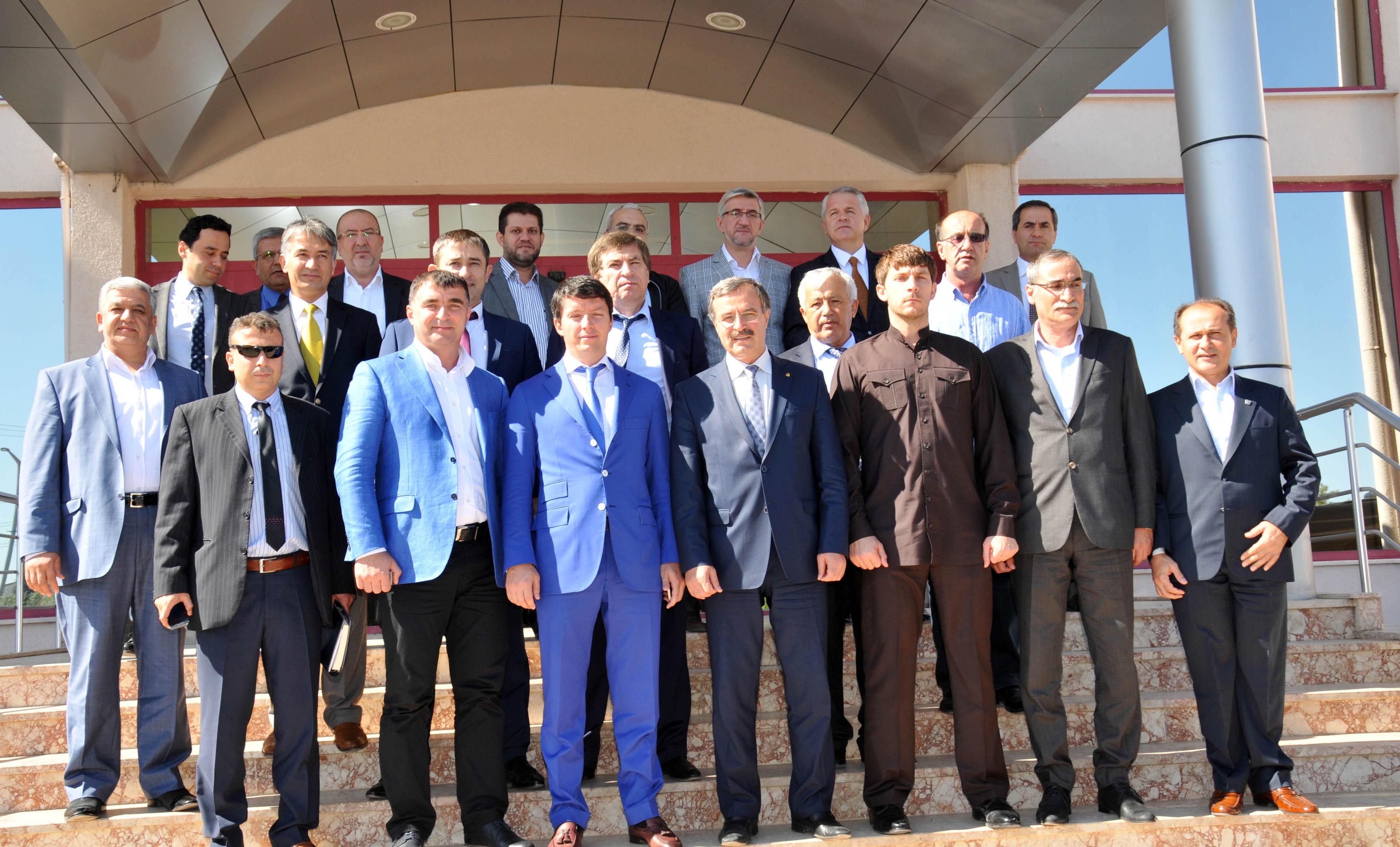 Çeçenistan'dan Konyalı iş adamlarına yatırım daveti