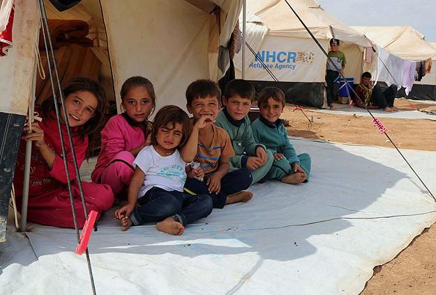 5 bin Yezidiye Suriyeliler sahip çıkıyor