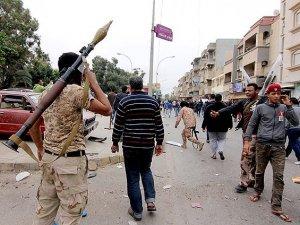 Libyada silahlı saldırılar