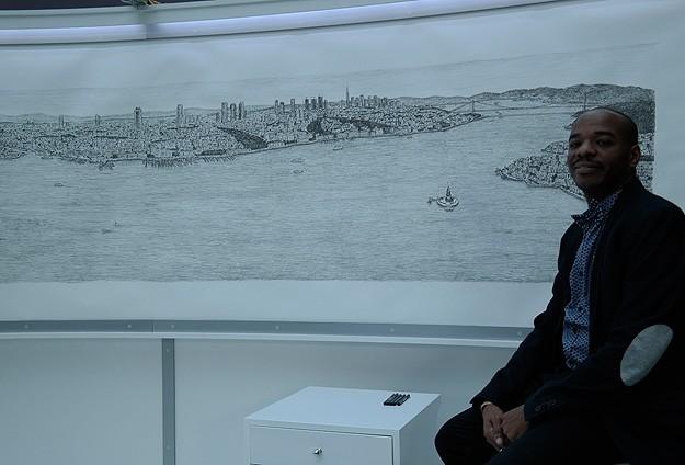 Dahi Bellek İstanbulu çizdi