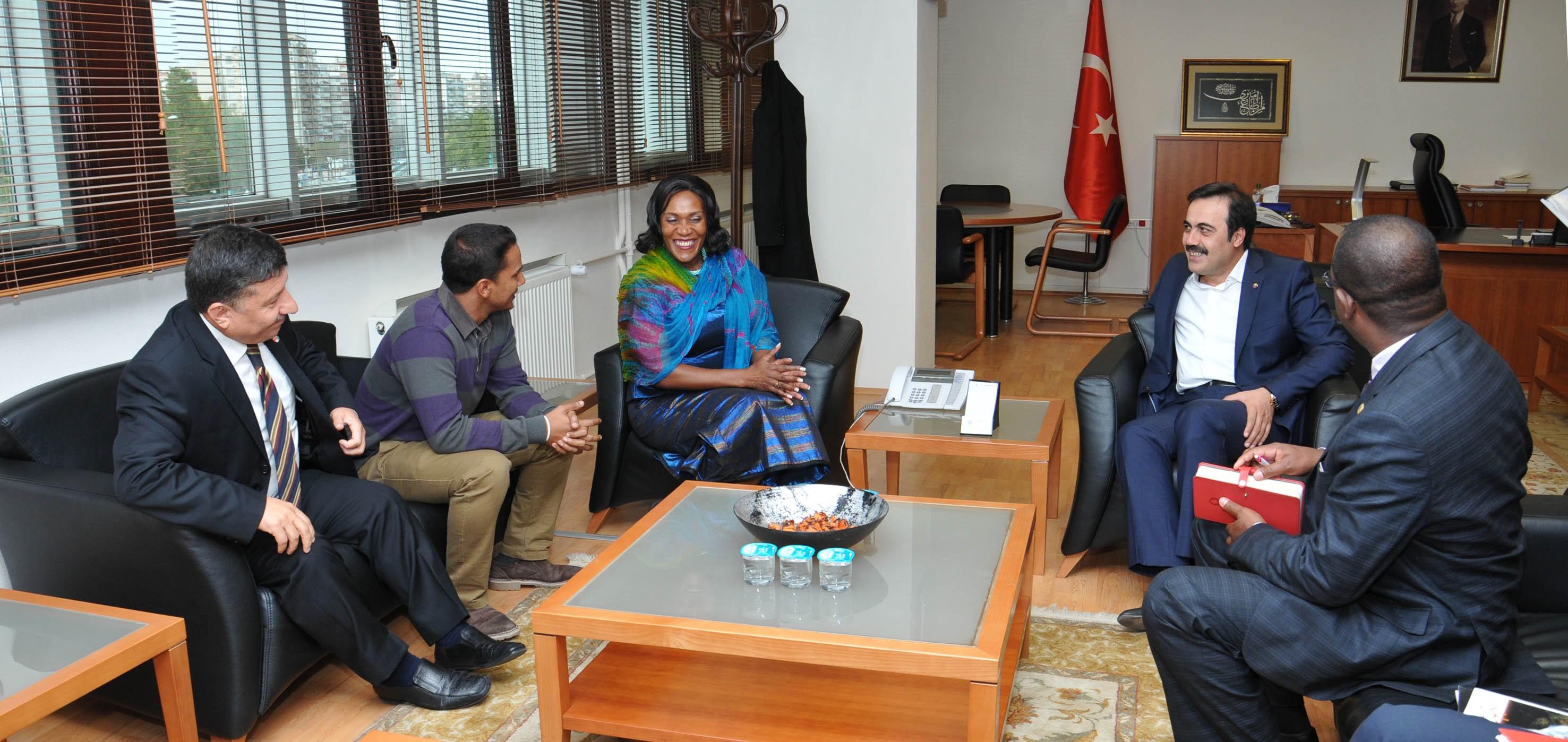 Zambiya Büyükelçisinden KTOya ziyaret