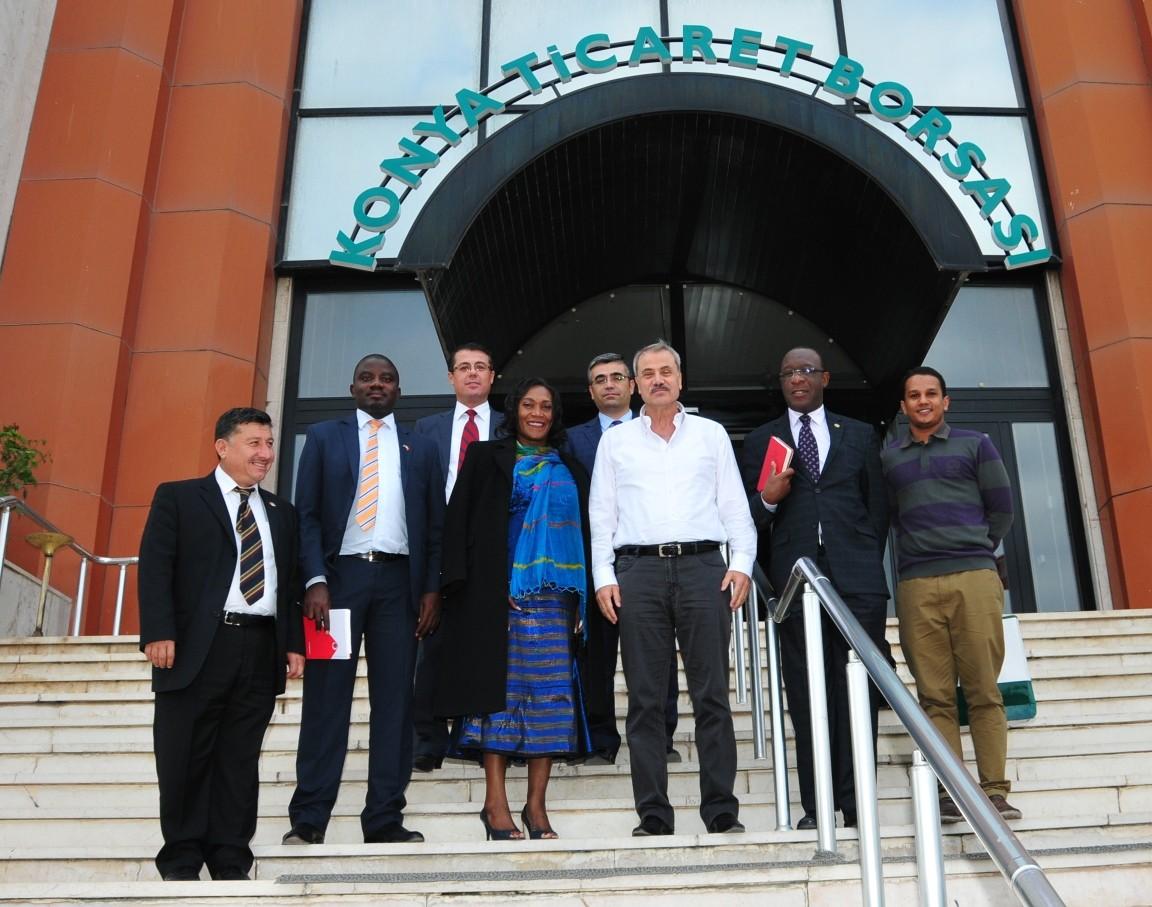 Zambiya Büyükelçisinden KTBye ziyaret