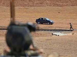 IŞİD militanları sıfır noktasında
