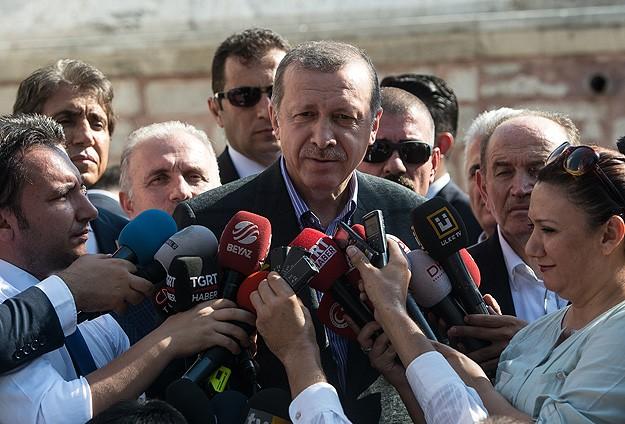 Erdoğan: Benim için tarih olur