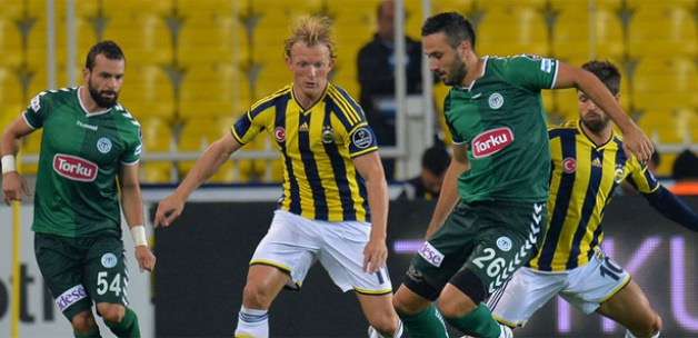 Torku Konyaspor Kadıköyde kaybetti