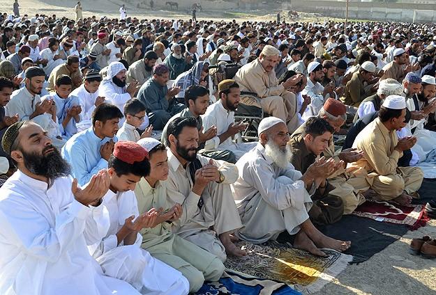 Pakistan'da Kurban Bayramı bugün başladı