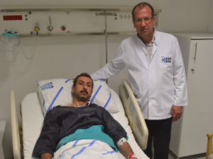 Ameliyat için Gaziantepten Konyaya geldi