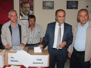 AK Parti'de delegeler seçimle belirleniyor