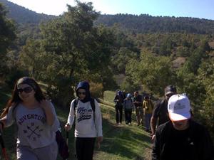 Karayaka Dağı'na doğa yürüyüşü etkinliği