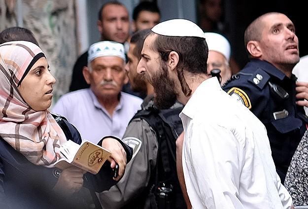 Filistinli kadınlara çirkin saldırı