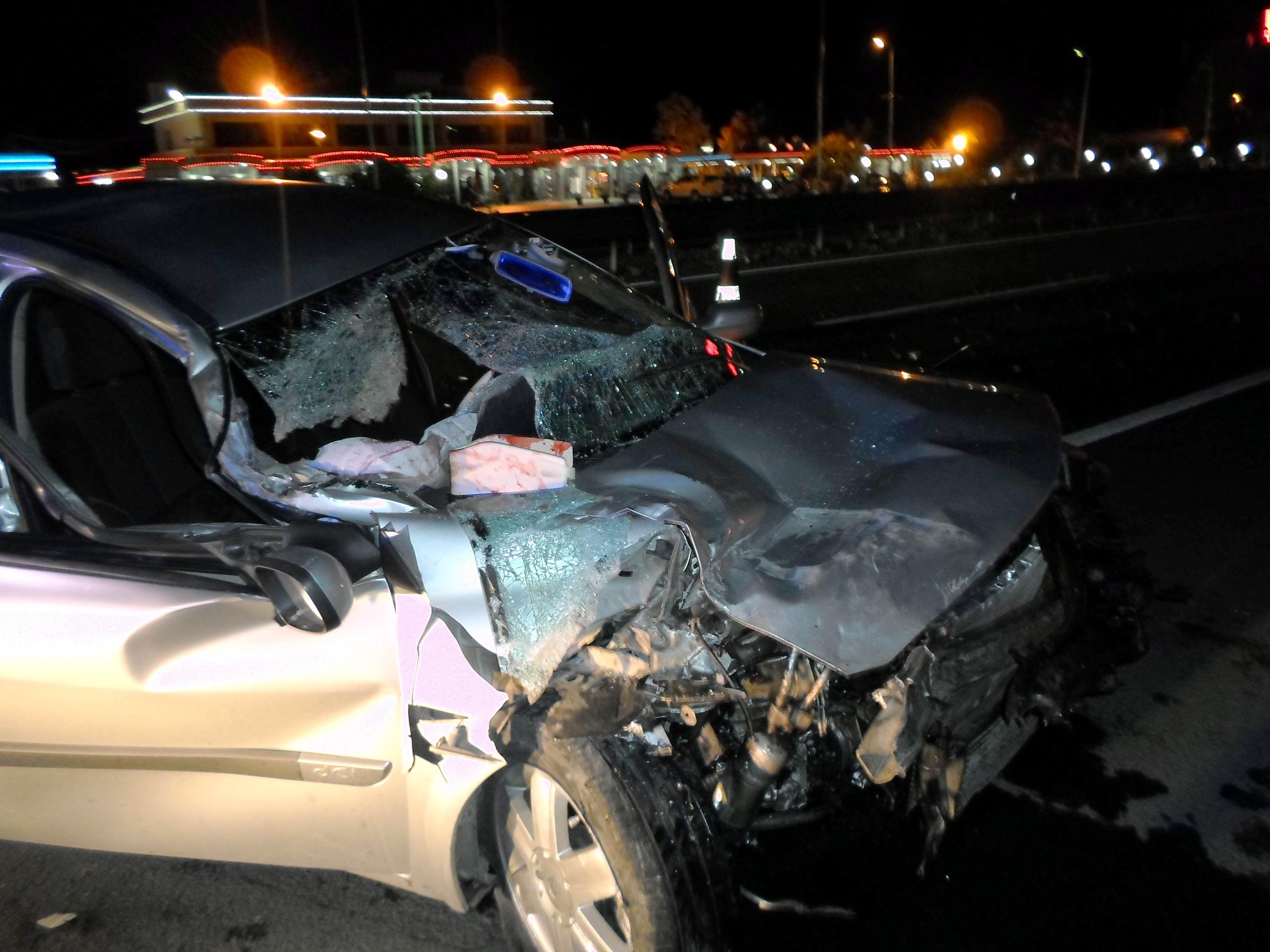 Konyada trafik kazası: 1 ölü, 1 yaralı