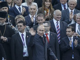 Putin Sırbistanda 1. Dünya Savaşı törenine katıldı