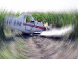 Balıkesirde ilaçlama uçağı düştü
