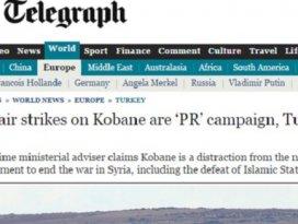 Kobani operasyonu Halkla ilişkiler kampanyası