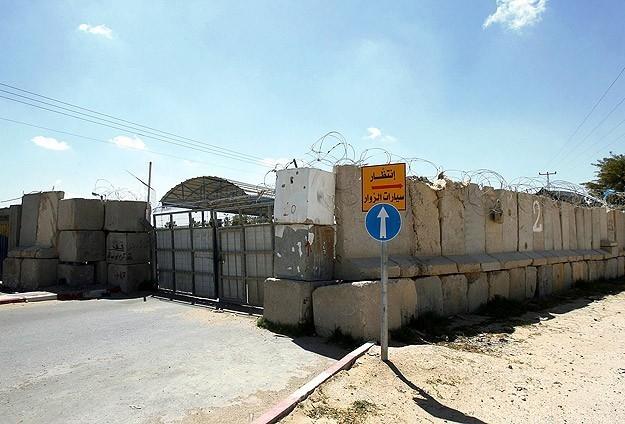 Kerm Ebu Salim Sınır Kapısı açıldı