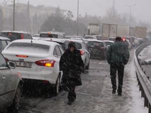 Meteorolojiden 3 ile kar uyarısı