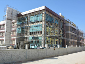 Konya'nın ilk diş hastanesinde sona geliniyor