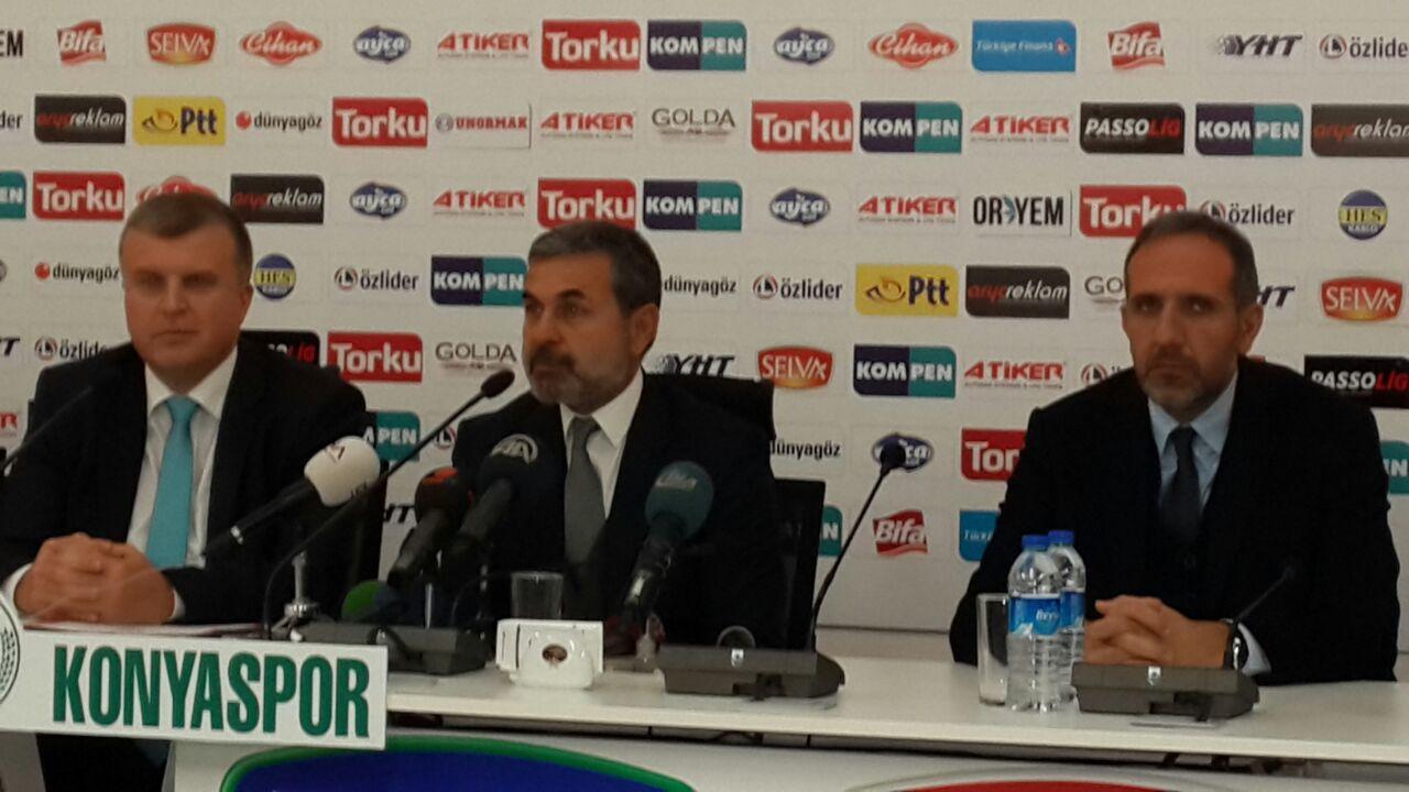Aykut Kocaman resmen Torku Konyasporda!