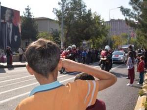 Diyarbakırda askerin dikkat çeken sloganı