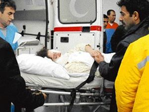 Ev alev alev yandı, çocuklar hastanelik oldu