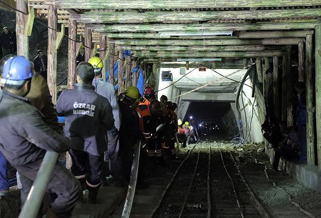 Maden ocağında çalışmalar aralıksız sürüyor