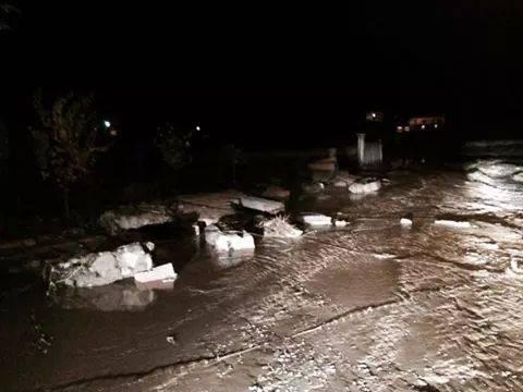 Kulu'da bir mahalle sular altında kaldı